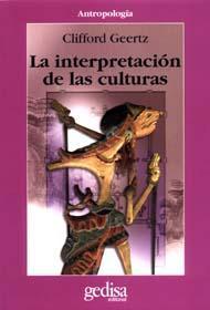 Libro LA INTERPRETACION DE LAS CULTURAS
