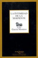 Libro LA INTIMIDAD DE LA SERPIENTE