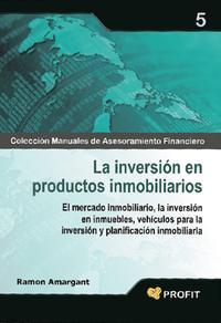 Libro LA INVERSION EN PRODUCTOS INMOBILIARIOS