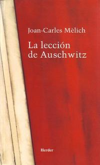 Libro LA LECCION DE AUSCHWITZ