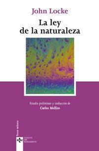 Libro LA LEY DE LA NATURALEZA