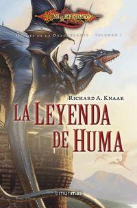 Libro LA LEYENDA DE HUMA