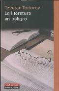 Libro LA LITERATURA EN PELIGRO