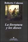 Libro LA LITERATURA Y LOS DIOSES