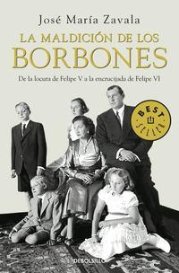 Libro LA MALDICION DE LOS BORBONES