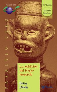 Libro LA MALDICION DEL BRUJO-LEOPARDO