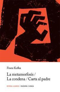 Libro LA METAMORFOSIS, LA CONDENA Y CARTA AL PADRE