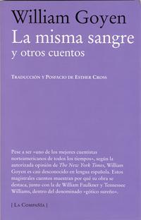 Libro LA MISMA SANGRE Y OTROS CUENTOS