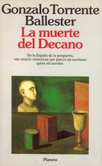 Libro LA MUERTE DEL DECANO