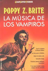 Libro LA MUSICA DE LOS VAMPIROS