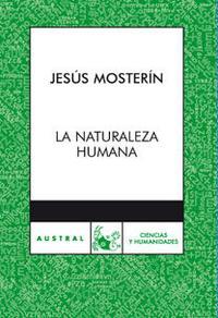 Libro LA NATURALEZA HUMANA