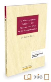 Libro LA NUEVA GESTION PUBLICA DE LOS RECURSOS HUMANOS EN LOS AYUNTAMIENTOS