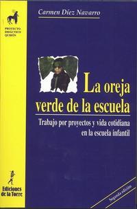 Libro LA OREJA VERDE DE LA ESCUELA: TRABAJO POR PROYECTOS Y VIDA COTIDI ANA EN LA ESCUELA INFANTIL