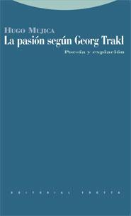 Libro LA PASION SEGUN GEORG TRAKL