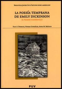 Libro LA POESIA TEMPRANA DE EMILY DICKINSON: PRIMER CUADERNILLO