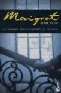 Libro LA PRIMERA INVESTIGACION DE MAIGRET