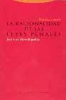 Libro LA RACIONALIDAD DE LAS LEYES PENALES