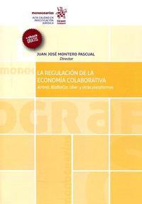 Libro LA REGULACIÓN DE LA ECONOMÍA COLABORATIVA