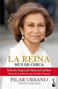 Libro LA REINA MUY DE CERCA