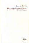 Libro LA RELIGIÓN SURREALISTA