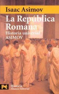 Libro LA REPUBLICA ROMANA