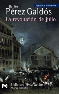Libro LA REVOLUCION DE JULIO:  EPISODIOS NACIONALES, 24/CUARTA SERIE