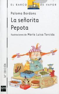 Libro LA SEÑORITA PEPOTA