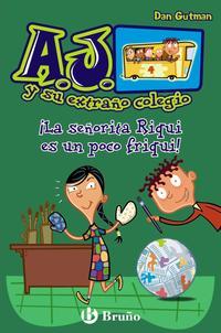 Libro LA SEÑORITA RIQUI ES UN POCO FRIQUI