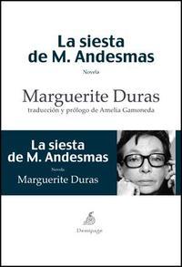 Libro LA SIESTA M.ANDESMAS
