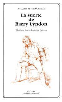 Libro LA SUERTE DE BARRY LYNDON.