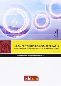 Libro LA SUPERVISIÓN EN MUSICOTERAPIA