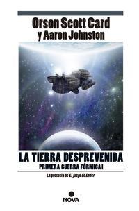 Libro LA TIERRA DESPREVENIDA