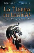 Libro LA TIERRA EN LLAMAS: SAJONES, VIKINGOS Y NORMANDOS V