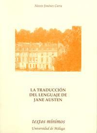 Libro LA TRADUCCION DEL LENGUAJE DE JANE AUSTEN