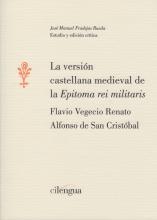 Libro LA VERSIÓN CASTELLANA MEDIEVAL DE LA  EPITOMA REI MILITARIS