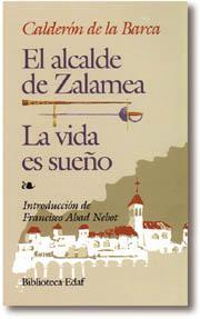 Libro LA VIDA ES SUEÑO; EL ALCALDE DE ZALAMEA