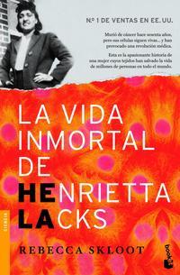 Libro LA VIDA INMORTAL DE HENRIETTA LACKS
