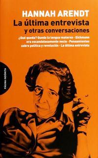 Libro LA ÚLTIMA ENTREVISTA Y OTRAS CONVERSACIONES