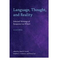 Libro LANGUAGE, THOUGHT, AND REALITY: SELECTED WRITINGS OF BENJAMIN LEE WHORF