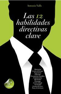 Libro LAS 12 HABILIDADES DIRECTIVAS CLAVE