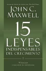 Libro LAS 15 LEYES INDISPENSABLES DEL CRECIMIENTO
