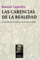 Libro LAS CARENCIAS DE LA REALIDAD