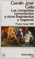 Libro LAS COMPAÑIAS CONVENIENTES Y OTROS FINGIMIENTOS Y CEGUERAS