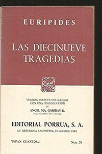 Libro LAS DIECINUEVE TRAGEDIAS