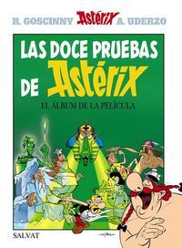 Libro LAS DOCE PRUEBAS DE ASTERIX
