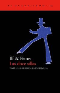 Libro LAS DOCE SILLAS