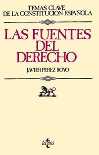 Libro LAS FUENTES DEL DERECHO