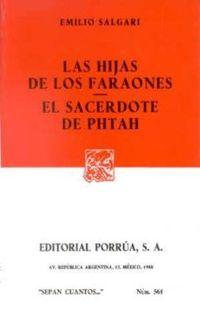 Libro LAS HIJAS DE LOS FARAONES. EL SACERDOTE DE PHTAH