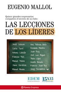 Libro LAS LECCIONES DE LOS LIDERES