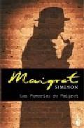 Libro LAS MEMORIAS DE MAIGRET